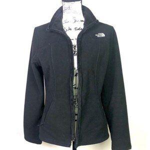 The North Face Black Fleece Jacket, Medium